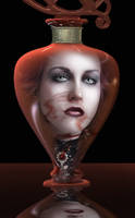 Poison Bottle by vampirekingdom