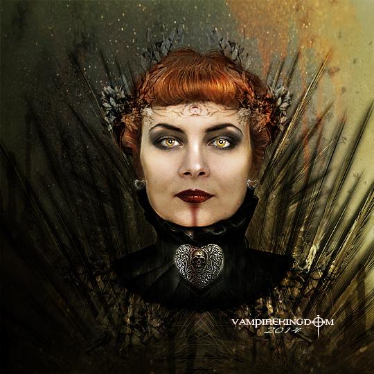 Queen Ravenna by vampirekingdom