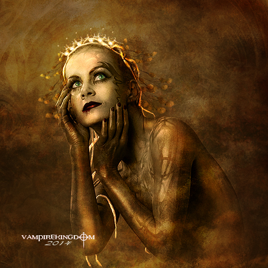 The Golden Nymph by vampirekingdom