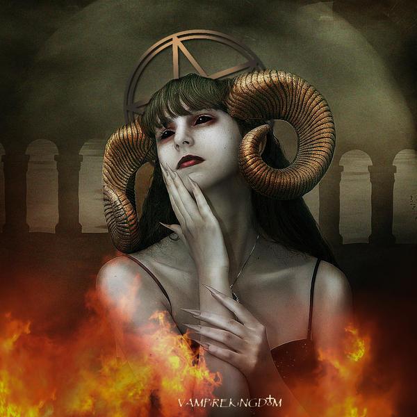 Astartea: the angel of hell by vampirekingdom