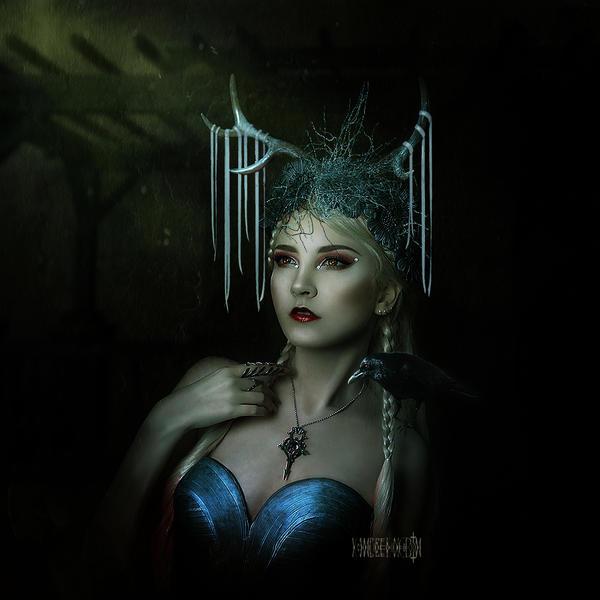 Morgana, the  Sorceress by vampirekingdom