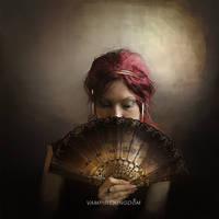 Under the Lace Fan by vampirekingdom