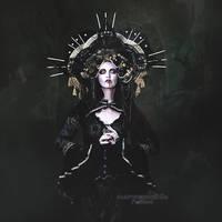 La Oscura Dama de Negro by vampirekingdom
