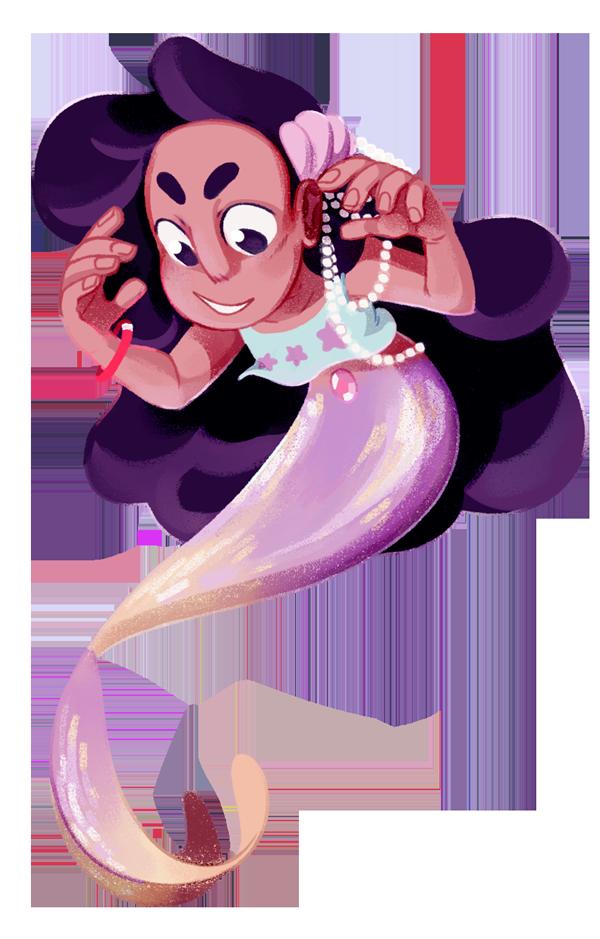 Stevonnie Chibi Mermaid! By Weirdlyprecious On DeviantArt
