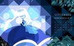 the birthstone of September: Sapphire!