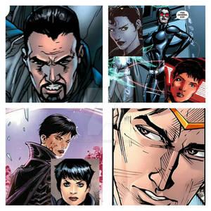 Dru-Zod and Ursa's 2 children, Faora and Lor-Zod.