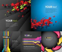 Black background vector Graphics