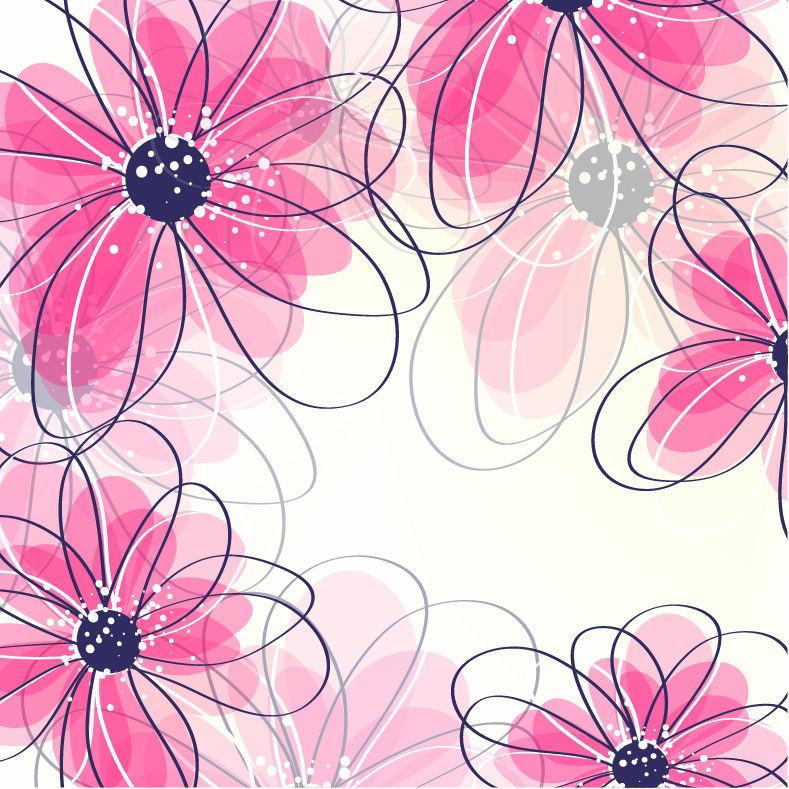 Flower-Background By Vectorbackgrounds On DeviantArt
