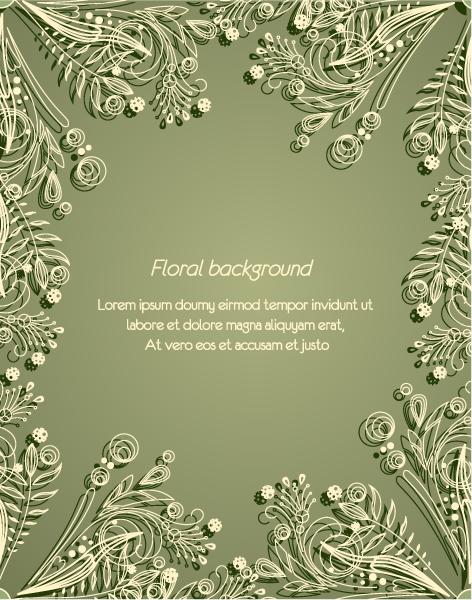 elegant green backgrounds - photo #34