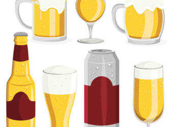 Cartoon-style-beer-amount-of-material