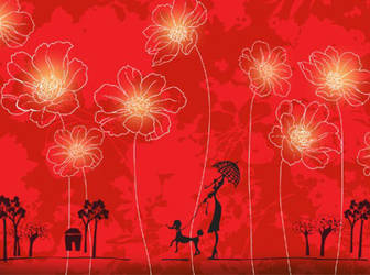 Red-flowers-vector-background-cover-design