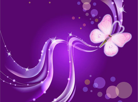 Dream-Purple-Butterfly-vector-background by vectorbackgrounds