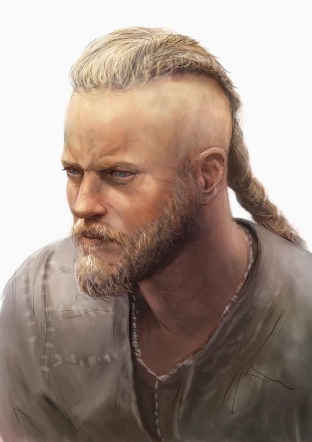 Ragnar Lothbrok study by Lestowitel