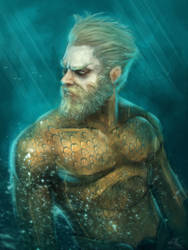 Aquaman by Lestowitel