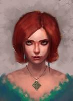 Triss Merigold by Lestowitel