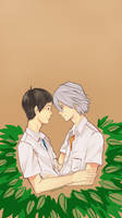 NGE: Just The Two of Us by KohiChapeau