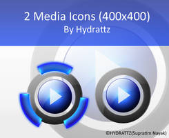 Media Icons by HYDRATTZ by Vande-Mataram