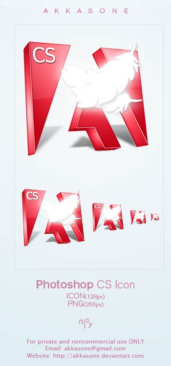Photoshop CS icon by akkasone by Vande-Mataram