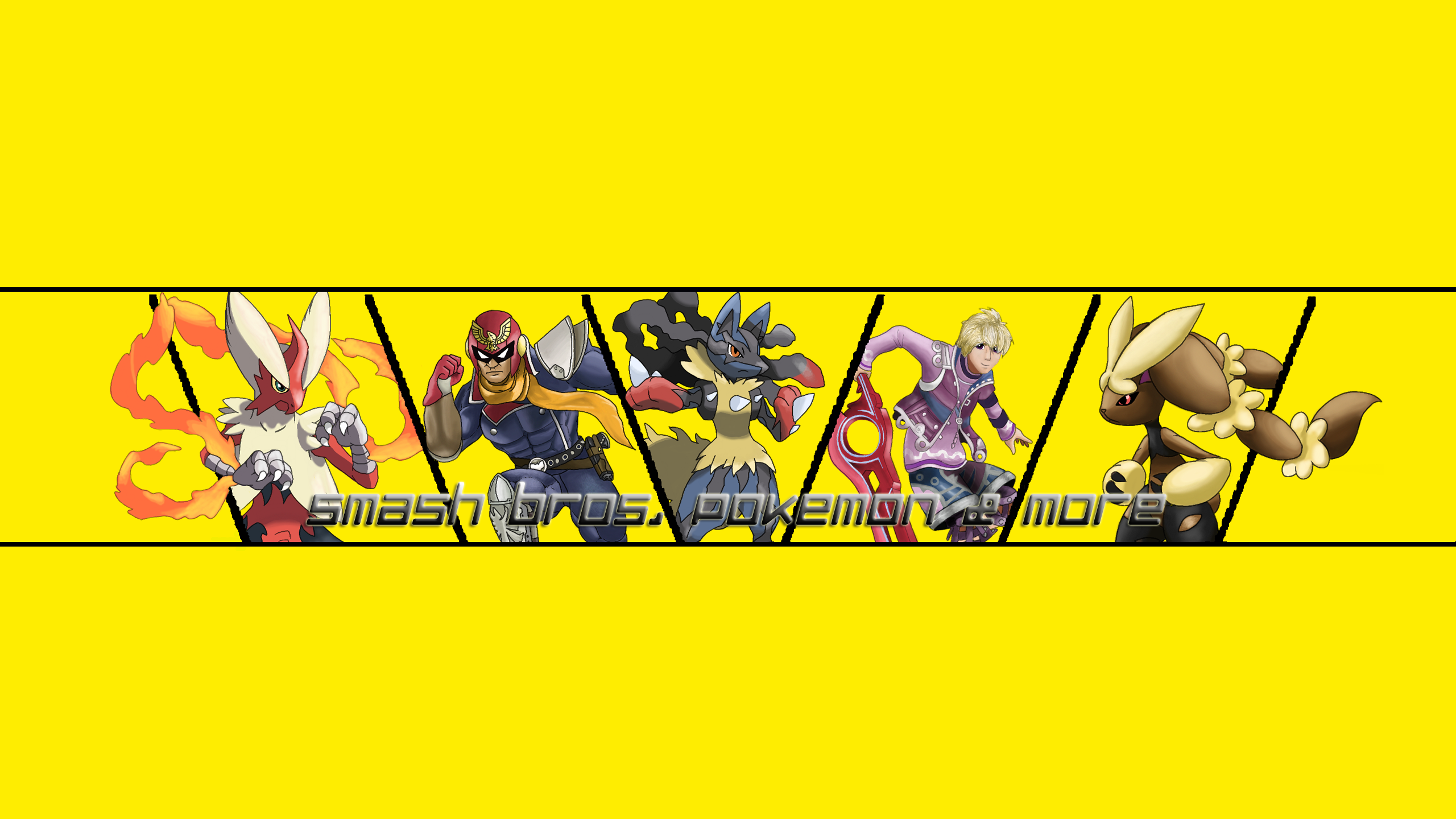 My first youtube channel art by Bman-64 on DeviantArt