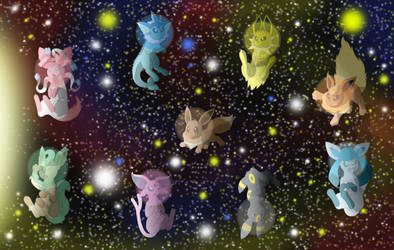 Eevees in space 2018 compilation