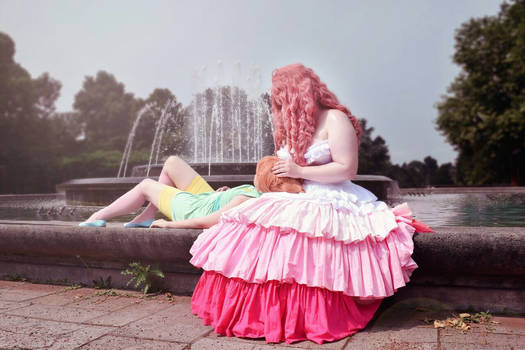 Rose and her Pearl | Cosplay | Steven Universe