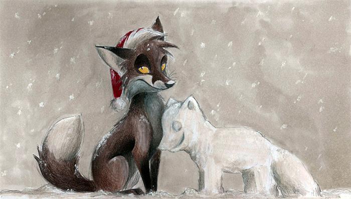 Merry Christmas by Skia