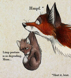 Limp Posture by Skia
