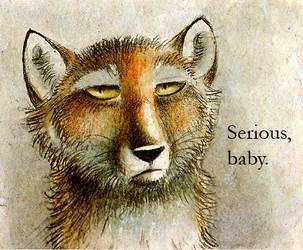 Serious Fox by Skia