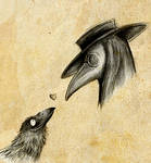 Raven and Plague Doctor