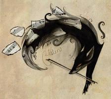 Efnir the Musician by Skia
