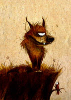 Wolf Cyclops by Skia