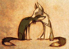 There, there. by Skia