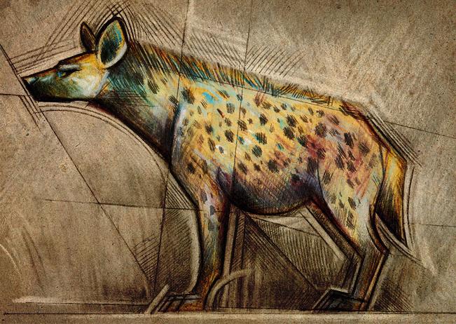 Hyena by Skia