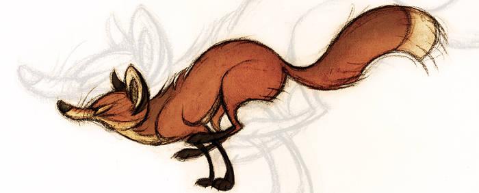 Run Fox Run by Skia
