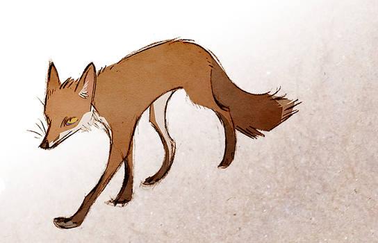 Just A Fox by Skia