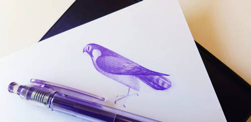 Purple II by Skia