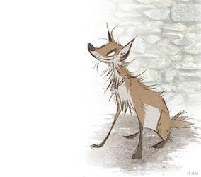 Gallows Fox by Skia