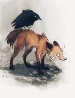 Gallows Fox and Gallows Bird