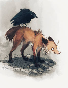 Gallows Fox and Gallows Bird