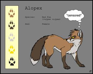 Alopex - Colorsheet