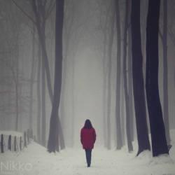 Her somber destiny by NikolasBrummer