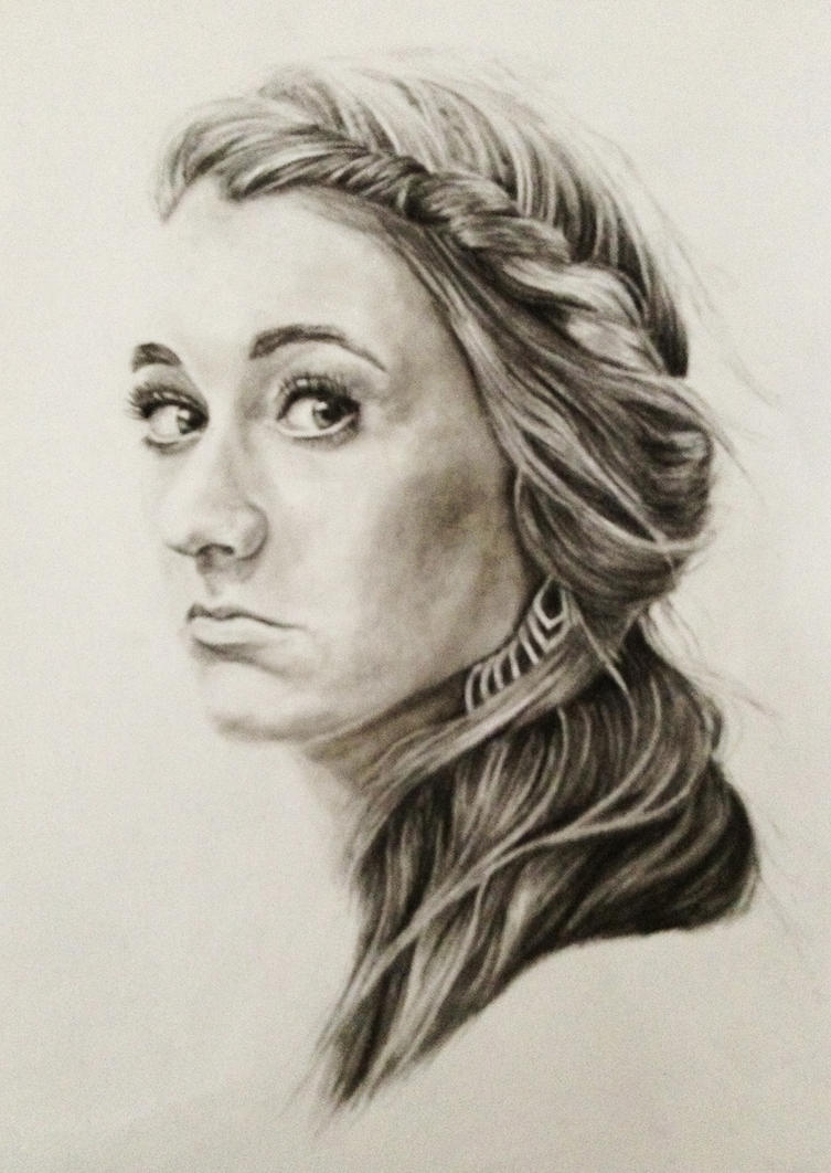 Girl with Earring by bugsy366