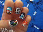 MUSE inspired nails