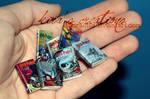 Harry Potter miniature books