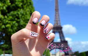 Paris Nails by KiraSTFD