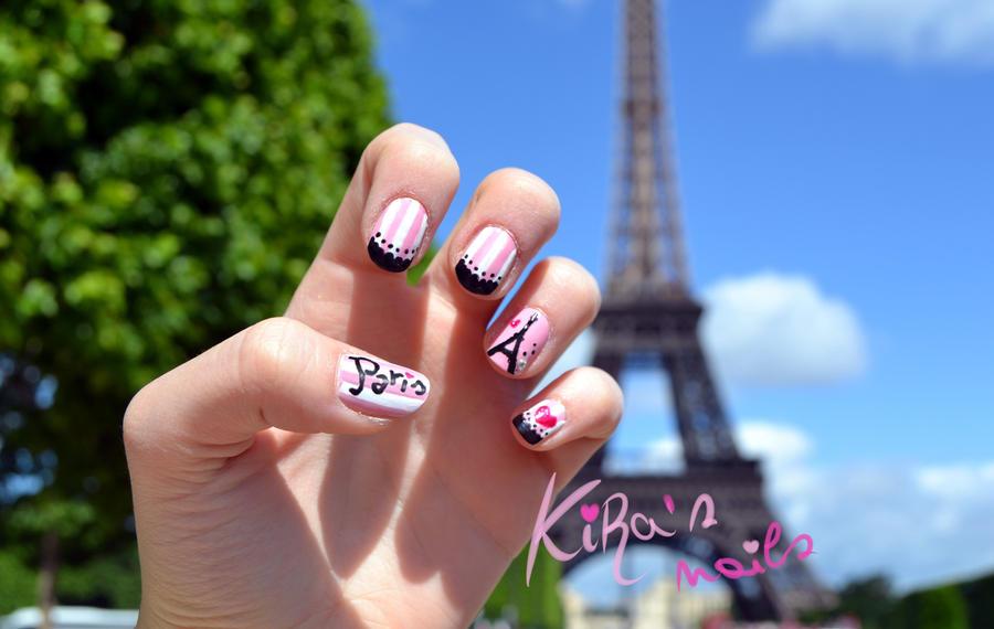 Paris Nails by KiraSTFD on DeviantArt