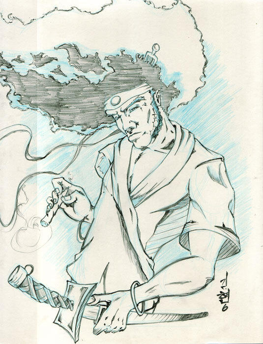 afro samurai by road2damascus