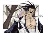 kenpachi and yachiru by road2damascus