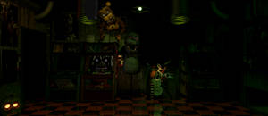 UCN   Withered Freddy in the office (FNAF 3)