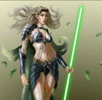 Star Wars: the new Master jedi by danielmartins